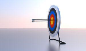 arrow, target, bullseye